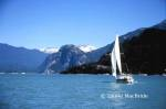Sailboat in Howe Sound