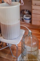 Siphoning wine from primary fermenter to carboy